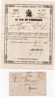 Tonneins (47 Lot Et Garonne) Convocation Pour Recrutement Du 10 Mars 1871 (PPP21296) - Documents