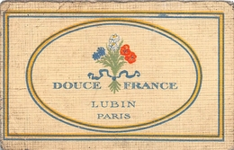 """Carte De Parfum Publicitaire - """" Les Parfums De GHISLAINE """" - Madame Chauvière Place Gambetta CHOLET - Publicités"""
