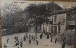CPA,l'Ardéche Pittoresque, Vallon, Asile Agricole, éd Beaumel, Vallon, écrite En 1919 - Vallon Pont D'Arc