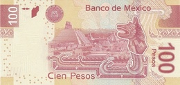 MEXICO P. 124d 100 P 2009 UNC - Messico