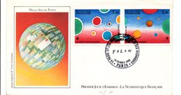 FDC 1982 PHILEXFRANCE FOLON - FDC