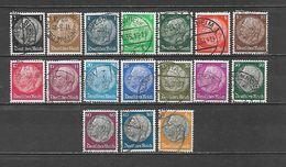 1933 - N. 483/98 USATI (CATALOGO UNIFICATO) - Germania