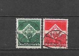 1935 - N. 530/31 USATI (CATALOGO UNIFICATO) - Germania