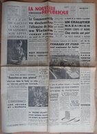 """24 H Du Mans 1965.Lutte Ferrari-Ford.La Baleine Volante L""""Antée 22"""" De Oleg & Antonov Au Bourget. - Desde 1950"""
