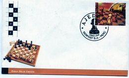 PERU. SOBRE FDC. 2004. AJEDREZ. SERPOST S.A. CHESS. SCACCHI. GAME. - NTVG - Perú
