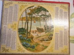 CALENDRIER ALMANACH  DES PTT DE 1926- JURA - Calendriers