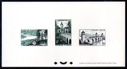 Epreuve Collective YT N° 1105-1118-1119 - Cote: 250 € - - Luxury Proofs