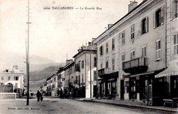 SALLANCHES  -  La Grande Rue  -  N° 2210 - Sallanches