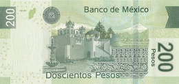 MEXICO P. 125b 200 P 2007 UNC - Messico