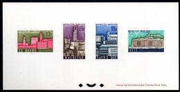 Epreuve Collective YT N° 1152 à 1155 - Cote: 300 € - - Epreuves De Luxe