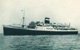EL MANSOUR   Navigation Mixte  Algerie Tunisie - Steamers