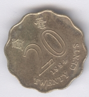 HONG KONG 1994: 20 Cents, KM 67 - Hong Kong