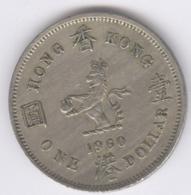 HONG KONG 1960: 1 Dollar, KM 31 - Hongkong