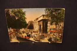 M-125 / [75] Paris  Arrondissement  Arrondissement: 10    Porte St.-Martin Boulevard St.-Denis / Circulé 1957 - Markten, Pleinen