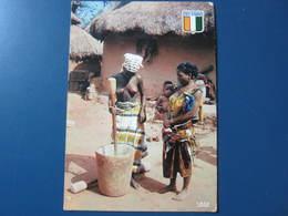 Carte Postale Village Sénoufo - Elfenbeinküste