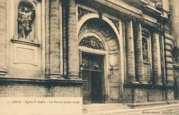 Lille PD 7 Eglise Saint André Le Portail Etat Neuf - Lille