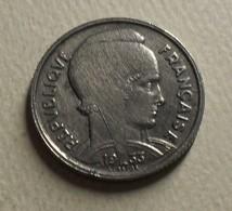 1933 - France - 5 FRANCS, Bazor, KM 887, Gad 753 - J. 5 Francs