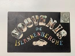 Souvenir De Blankenberghe 1908 - Blankenberge