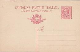 ITALIA 1912 - CARTOLINA POSTALE - C10 - MILL.12 - NUOVA INTEGRA - - Interi Postali