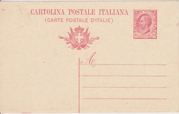 ITALIA 1917 - CARTOLINA POSTALE - C10 - MILL.17 - NUOVA INTEGRA - - Interi Postali