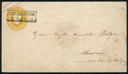 GERMANY: Old Used 3SG. Stationery Envelope, Nice Postmark, VF Quality! - Germany