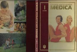 "Libro ""GRANDE ENCICLOPEDIA MEDICA CURCIO 1979"" Volume 1° Formato 22x29,5-vedi Foto----------(609E) - Médecine, Biologie, Chimie"