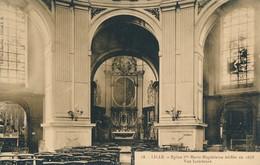 Lille PD 18 Eglise Sainte Marie Magdeleine Vue Intérieure état Neuf - Lille