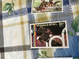 COLOMBIA ARTE EQUESTRE - Stamps