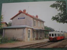 BUXY - Autorail Dijon-Cluny En Gare - Sonstige Gemeinden