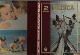 "Libro ""GRANDE ENCICLOPEDIA MEDICA CURCIO 1979"" Volume 2° Formato 22x29,5-vedi Foto----------(610E) - Médecine, Biologie, Chimie"