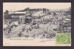CPA Haïti Port Au Prince Circulé - Cartes Postales