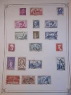 Collection France - Belles Valeurs - Années 30 - 40 - Voir Photos - Stamps
