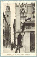 Cartolina Padova Via Del Sale - Casino Pedrocchi - Non Viaggiata - Padova (Padua)