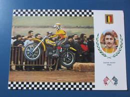Carte Postale Motocross Suzuki - Motos