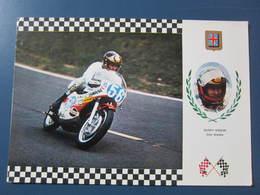 Carte Postale Moto Grand Prix Barry Sheene - Motos