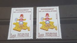 LOT 484215 TIMBRE DE FRANCE NEUF** LUXE VARIETE CHIFFRE 7 ABSENT - France