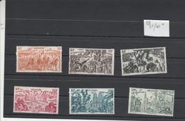 Réunion Yvert PA 36 à 41 * - Neufs Avec Charnière - Tchad Au Rhin - Réunion (1852-1975)