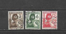 1937 - N. 591/93 USATI (CATALOGO UNIFICATO) - Germania