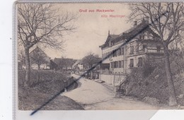 GruB Aus Mackweiler (67) Villa Moellinger - Non Classés