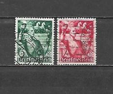 1938 - N. 603/04 USATI (CATALOGO UNIFICATO) - Germania