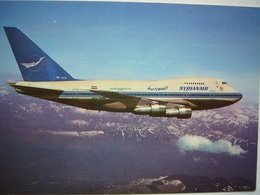 Avion / Airplane /  SYRIANAIR  / Boeing B 747 SP / Airline Issue - 1946-....: Modern Era