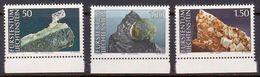 Liechtenstein 1989: Mineralien: Quartz - Pyrit - Calcit Zu 908 Mi 967 Yv 908** MNH (Zu CHF 5.50) - Minéraux