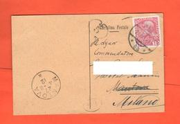Riva Del Garda Giornale L'Eco Del Baldo Cartolina Commerciale 1912 Annullo E Valore Austriaci - Otros
