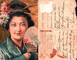 69, Publicité Biscuits Pernot Japonaise - Pubblicitari