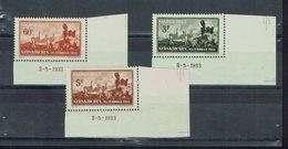 Sarre - 1933 - N° 162/164 - X - Neufs Bord De Feuille, Traces De Charnières - TB - - Ungebraucht