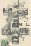 Vittel   Souvenir       Croix De Lorraine - Vittel Contrexeville