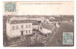 Dammartin En Serve (78 - Yvelines) Vue D'ensemble De L'Usine De Sparterie - Sonstige Gemeinden