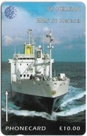 St. Helena - C&W - GPT - Ships - R.M.S. St. Helena (1990-) - 5CSHB - 2.000ex, Used - Isla Santa Helena