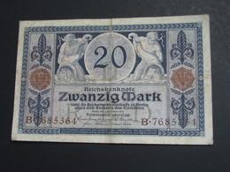 20 Zwanzig Mark - Berlin  1915 - Reichsbanknote - Germany **** EN ACHAT IMMEDIAT **** - [ 3] 1918-1933 : República De Weimar