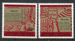 ALBANIA 1977 New Constitution MNH / **.   Michel 1925-26 - Albania